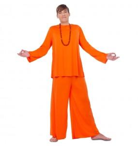 Disfraz de Budista Hare Krishna para hombre