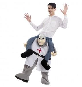 Disfraz de Caballero Medieval a hombros para adulto