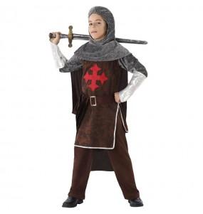 Disfraz de Caballero Medieval Cruzadas para niño
