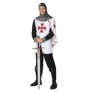 Disfraz de Caballero medieval templario para hombre