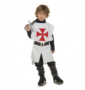 Disfraz de Templario Medieval para niño