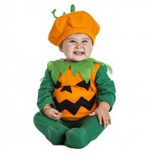 Disfraz de Calabaza naranja para bebé