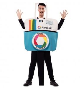 Disfraz de Cámara Polaroid para adulto