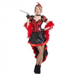 Disfraz de Can Can Burlesque para mujer