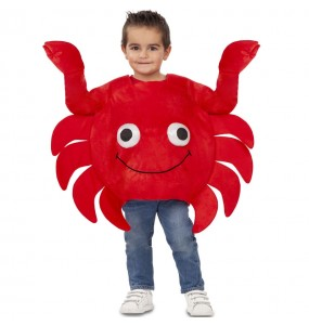 Disfraz de Cangrejo Sebastian para niño