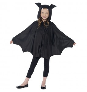 Capa murciélago infantil de disfraz