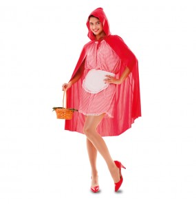 Disfraz de Caperucita para mujer