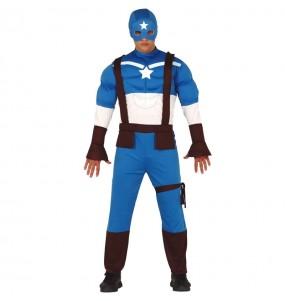Disfraz de Capitán América Civil War para hombre