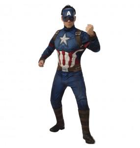Disfraz de Capitán América Los Vengadores para hombre
