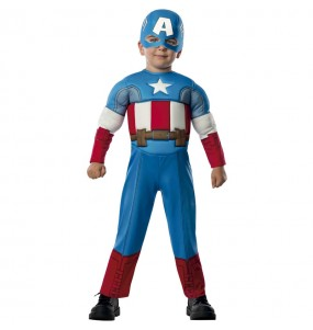 Disfraz de Capitán América Marvel para bebé