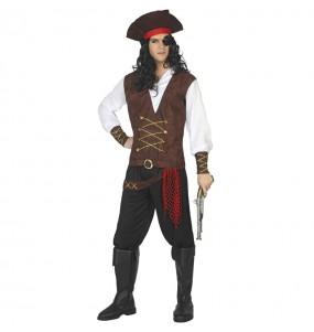 Disfraz de Capitán barco pirata para hombre
