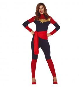 Disfraz de Capitana Marvel para mujer