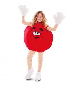 Disfraz de Caramelo Rojo para niños