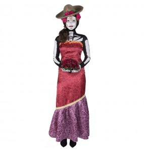 Disfraz de Catrina Cassandra para mujer