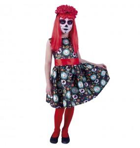 Disfraz de Catrina Guadalupe para niña