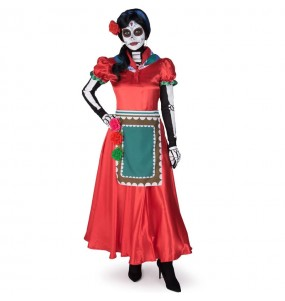 Disfraz de Catrina Rosabella para mujer