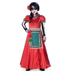 Disfraz de Catrina Rosabella para niña