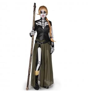 Disfraz de Catrina Valeria para mujer