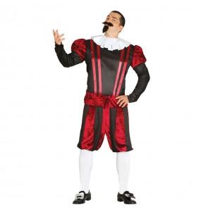 Disfraz de William Shakespeare Adulto