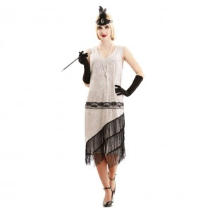 Disfraz de Charlestón Elegante para mujer