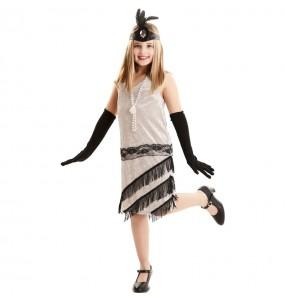 Disfraz de Charlestón Gatsby para niña