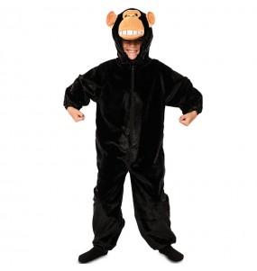 Disfraz de Chimpancé Peluche para niños