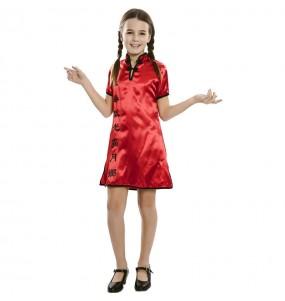Disfraz de China Cheongsam para niña