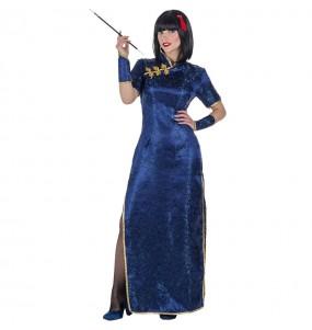 Disfraz de China Qipao para mujer