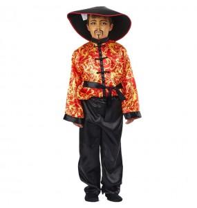 Disfraz de Chino Gran Dragón para niño
