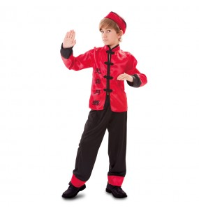 Disfraz de Chino Rojo infantil
