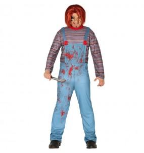 Disfraz de Chucky el muñeco sangriento para hombre