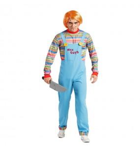 Disfraz de Chucky el Muñeco Diabólico adulto