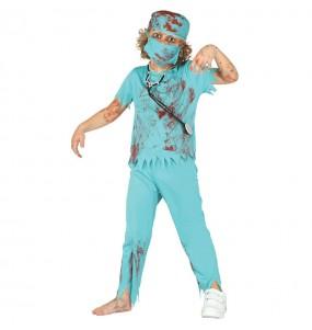 Disfraz de Cirujano Zombie Infantil