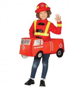 Disfraz de Coche Bomberos para niños