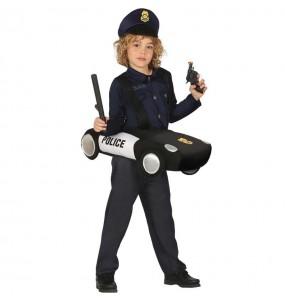 Disfraz de Coche Policía para niños