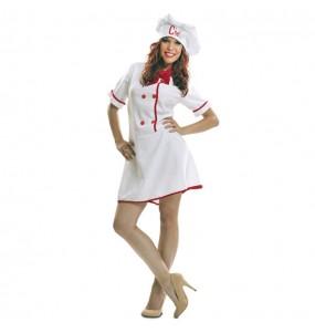 Disfraz de Cocinera Masterchef para mujer