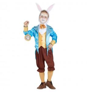 Disfraz de Conejo Alicia en el País de las Maravillas para niño