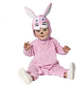 Disfraz de Conejo rosa para bebé