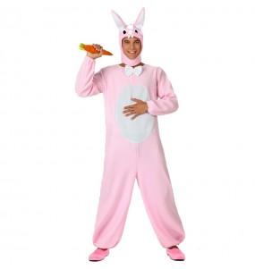 Disfraz de Conejo Rosita adulto