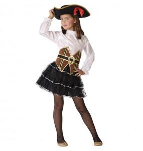 Disfraz de Corsaria Pirata para niña
