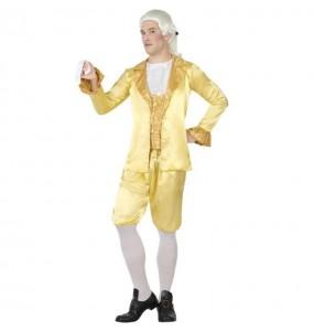 Disfraz de Cortesano Época Dorado para hombre