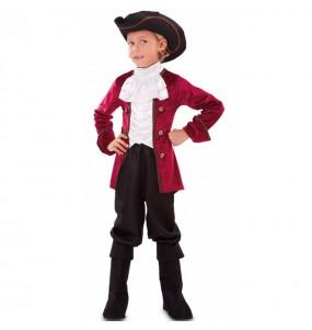 Disfraz de Cortesano Época para niño