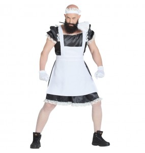 Disfraz de Criada Sexy para hombre