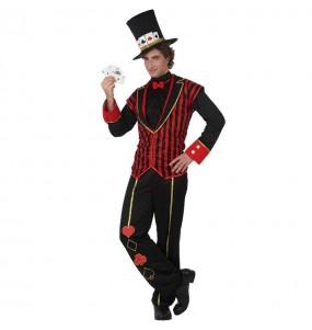 Disfraz de Croupier Póker para hombre