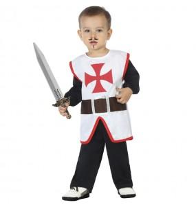 Disfraz de Cruzado medieval para bebé