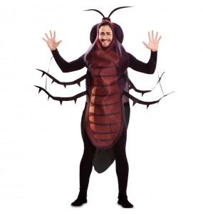 Disfraz de Cucaracha Marrón para adulto