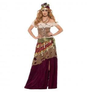 Disfraz de Curandera vudú para mujer