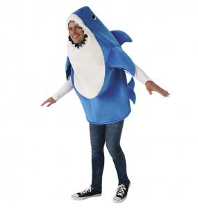 Disfraz de Daddy Shark para adulto