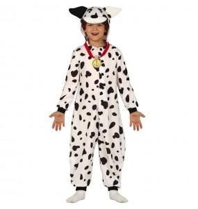 Disfraz de Dálmata Kigurumi para niños