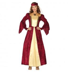 Disfraz de Dama Medieval Elegante para mujer